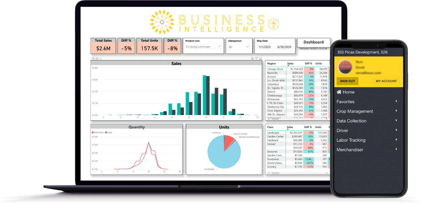 Grow PICAS with Business Intelligence