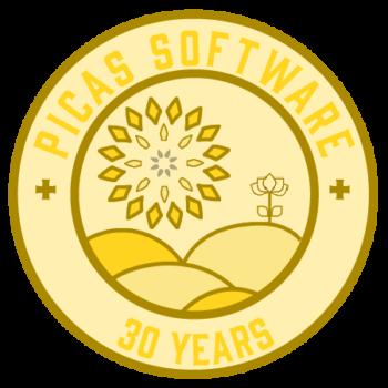 PICAS 30 Year Logo